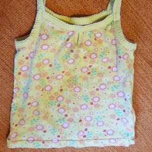 tank top size 2T